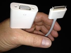 iPad VGA adapter